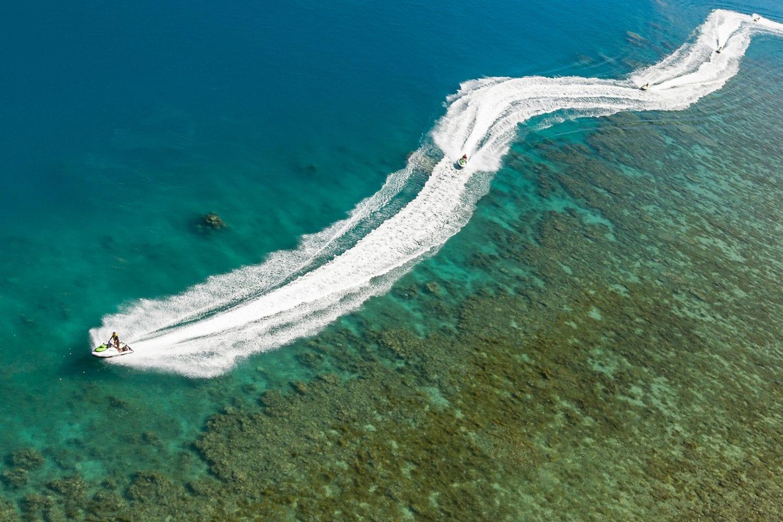 whitsunday jet ski ultimate island trek