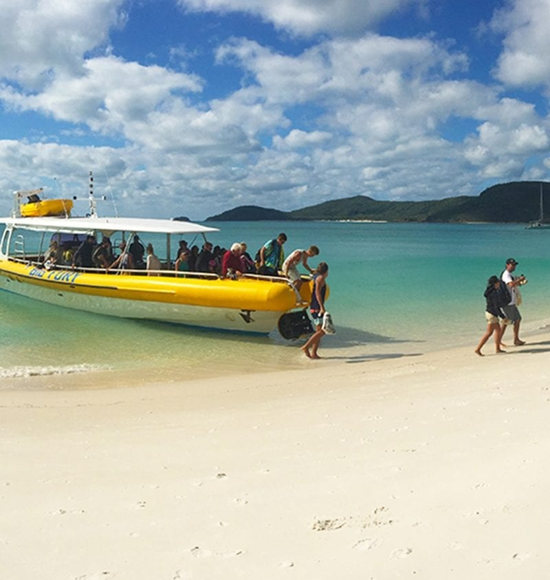 big fury at whitehaven beach