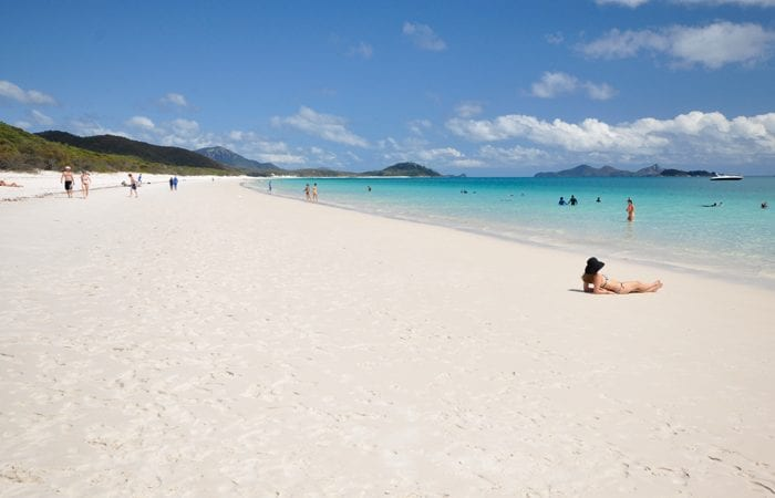 whitehaven beach family day